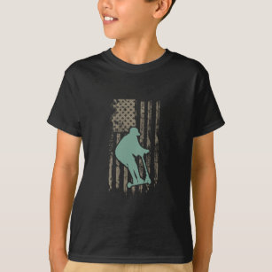 f7035c23 Awesome Patriotic USA Scooter T-Shirt