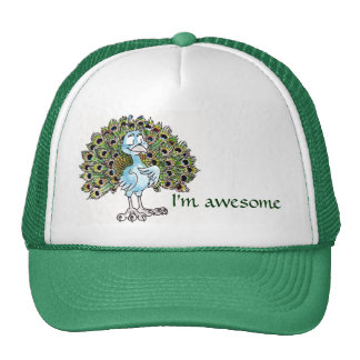 Awesome Peacock Hat
