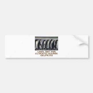 awesome Penguin designs Car Bumper Sticker