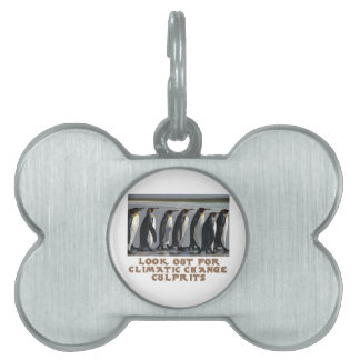 awesome Penguin designs Pet Tag