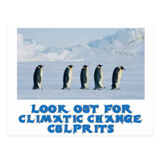awesome Penguin designs Postcard