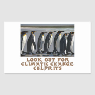 awesome Penguin designs Rectangular Sticker