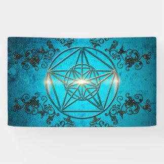 Awesome pentagram banner