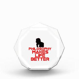 awesome Philosophy designs Acrylic Award