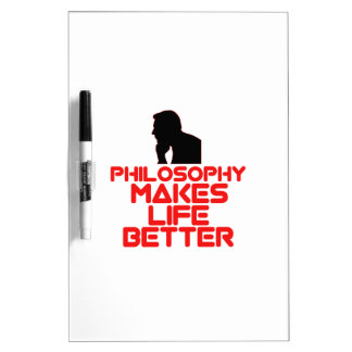awesome Philosophy designs Dry Erase Board