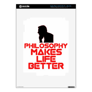 awesome Philosophy designs Skins For iPad 3