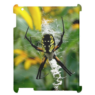 Awesome Photo Orb Spider in Web Case For The iPad
