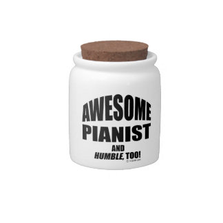 Awesome Pianist Candy Jars