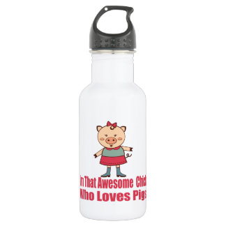 Awesome Pigs Stainless Steel Water Bottle