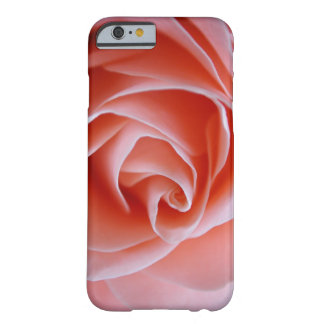 Awesome Pink Camelia Barely There iPhone 6 Case