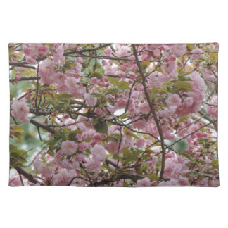 Awesome Pink Flower Blossome Photograph Placemat