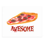 Awesome Pizza Postcard