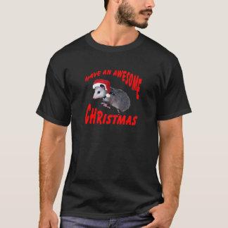Awesome Possum Christmas T-Shirt
