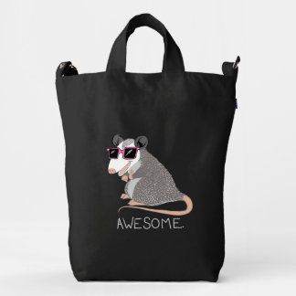 Awesome Possum Duck Bag