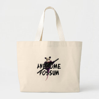 Awesome Possum Large Tote Bag