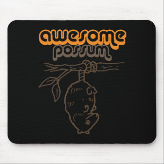 Awesome Possum Mouse Pad
