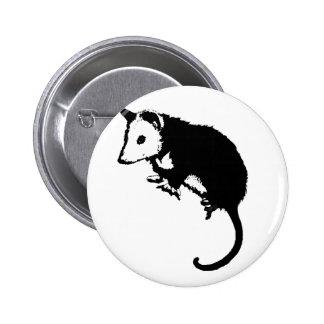 Awesome Possum Opossum Pinback Button