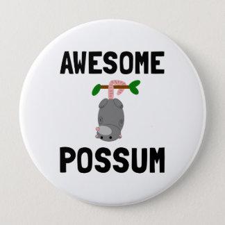 Awesome Possum Pinback Button
