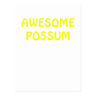 Awesome Possum Postcard
