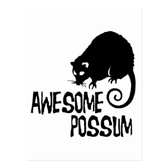 Awesome Possum Postcard