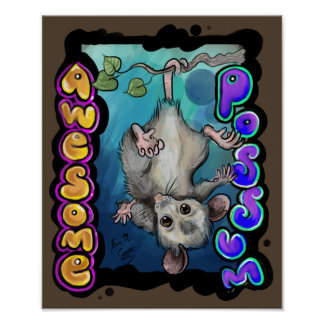 Awesome Possum! Poster