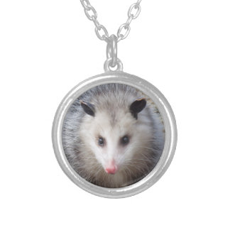 Awesome Possum Silver Plated Necklace