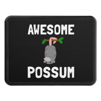 Awesome Possum Tow Hitch Cover