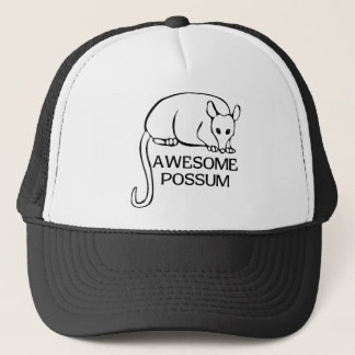 Awesome Possum Trucker Hat