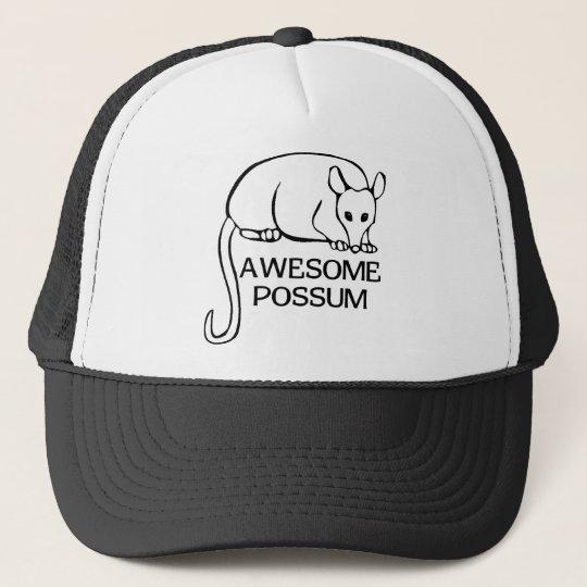 Awesome Possum Trucker Hat