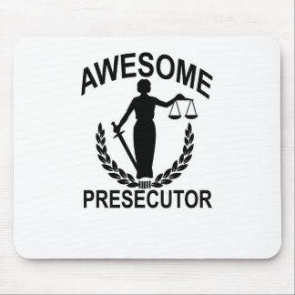 Awesome prosecutor FUNNY T-Shirt . Mouse Pad