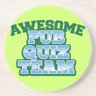 Awesome Pub Quiz TEAM! Drink Coaster