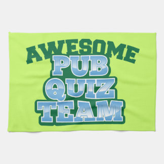 Awesome Pub Quiz TEAM! Kitchen Towel