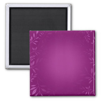 Awesome purple floral valentine gift refrigerator magnet