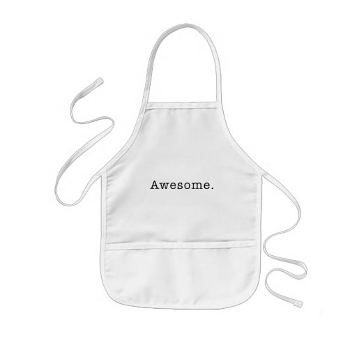 Awesome Quote Template Blank  black white Aprons