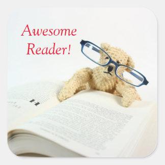 Awesome Reader Reward Stickers