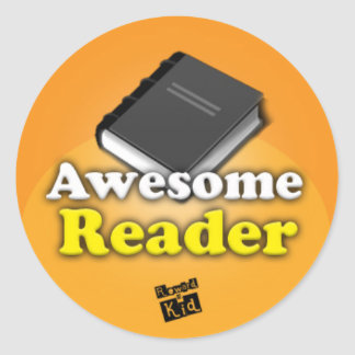 Awesome Reader set of 20 Sticker