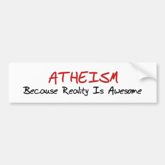Awesome Reality Bumper Sticker