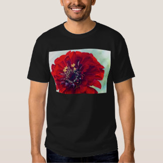 Awesome Red Flower Shirt