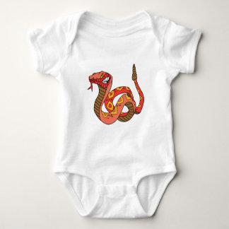 Awesome Red Rattlesnake Baby Bodysuit