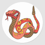 Awesome Red Rattlesnake Sticker