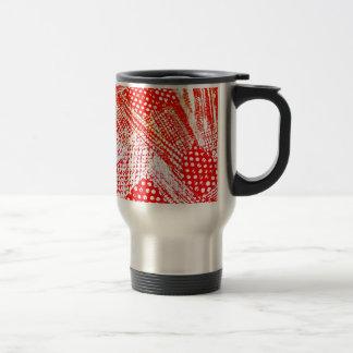 Awesome Red Yellow Abstract Design Image Coffee Mug