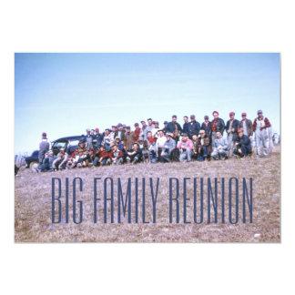 Awesome Retro Family Reunion Card