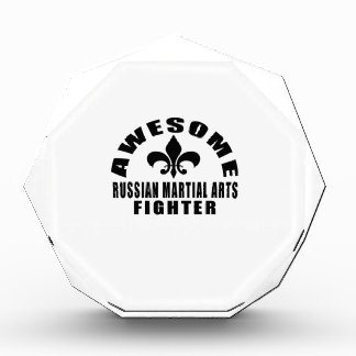 AWESOME RUSSIAN MARTIAL ARTS FIGHTER AWARD