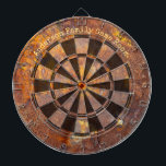 """Awesome Rusty Iron Custom Message Dart Board<br><div class=""""desc"""">Perfect for your game room,  bar or man cave - awesome industrial look</div>"""