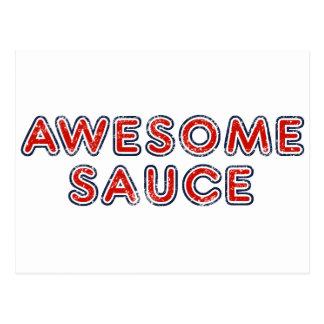 Awesome Sauce Postcard