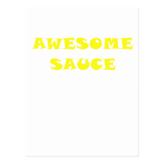 Awesome Sauce Postcard