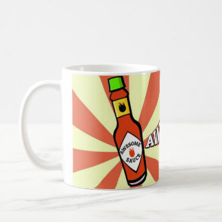 Awesome Sauce White 11 oz Classic White Mug