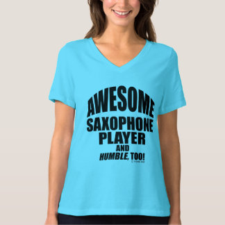 Awesome Saxophone Player T-Shirt