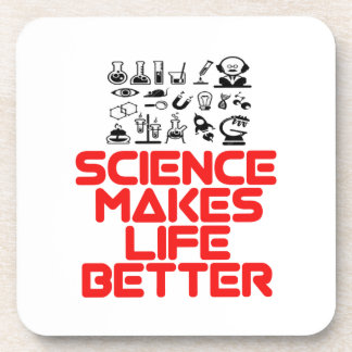 awesome SCIENCE designs Coaster