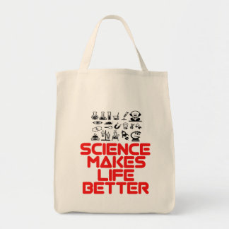 awesome SCIENCE designs Tote Bag